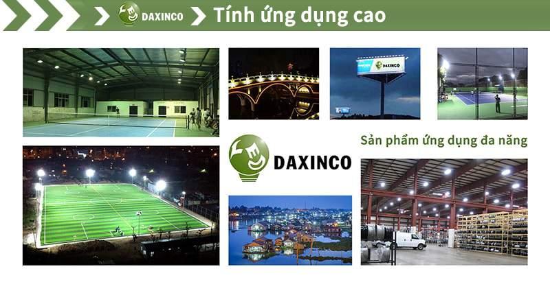 Tính ứng dụng cao với đèn pha led Daxinco