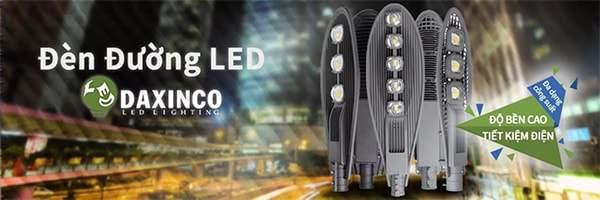 Daxinco nơi cung cấp đèn đường led ở HCM uy tín, giá tốt