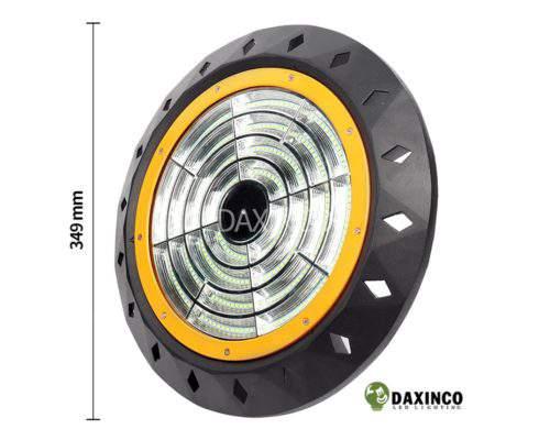 Kích thước Đèn led nhà xưởng 150w UFO Daxinco