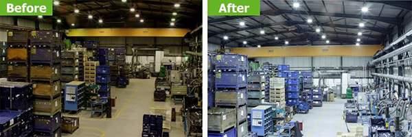 Đèn led nhà xưởng tạo môi trường làm việc tốt hơn