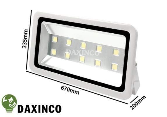Kích thước Đèn Pha led 300W Daxinco kiểu thông dụng Daxin300-1