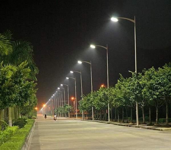 Khung cảnh đường phố sáng sủa hơn nhờ công nghệ chiếu sáng led