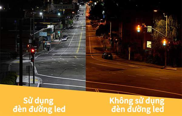 Đèn đường led có rất nhiều ưu điểm