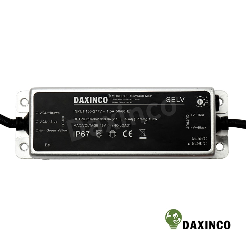 Driver led 105W Daxinco - Tăng phô led