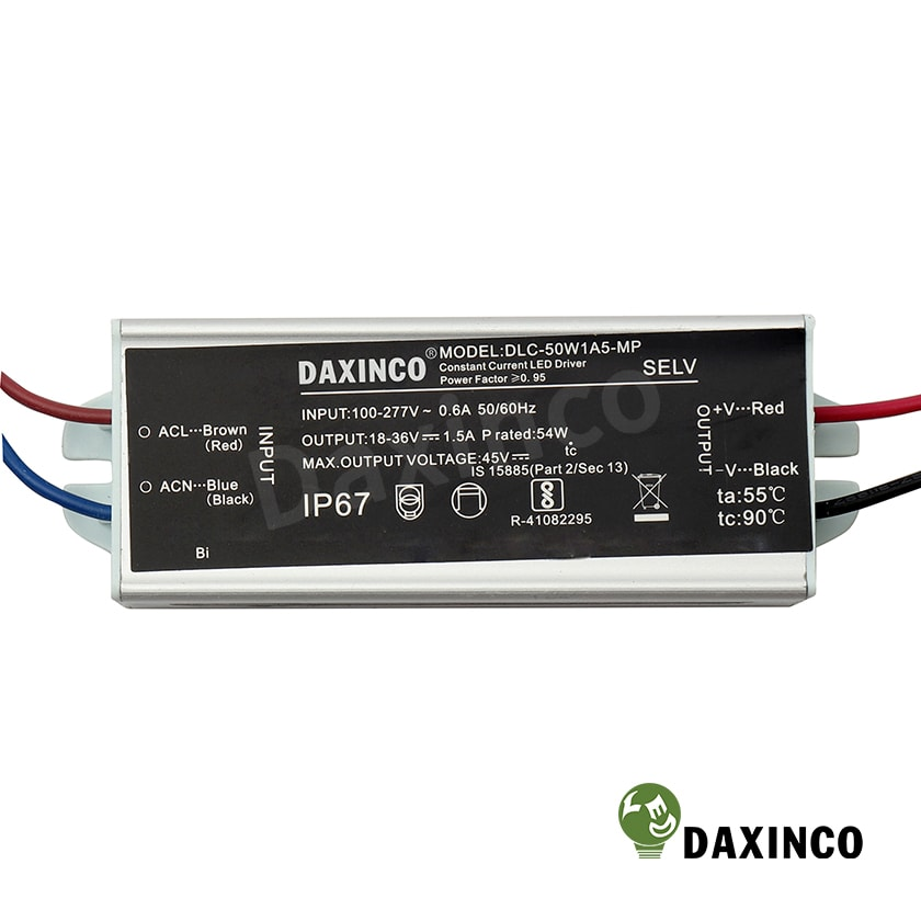 Driver led 50W Daxinco - Tăng phô led