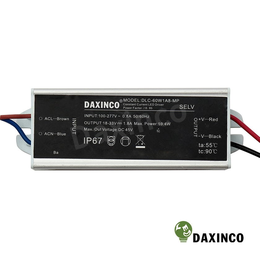 Driver led 60W Daxinco - Tăng phô led