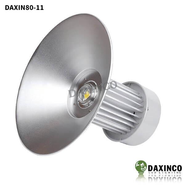 Đèn led nhà xưởng 80W Daxinco kiểu thông dụng Daxin80-11 1