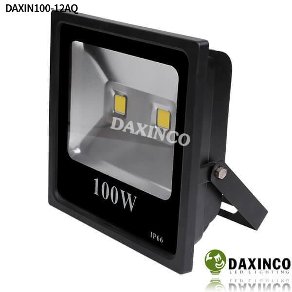 Đèn pha led 12vdc dùng bình ắc quy 100W Daxinco 1