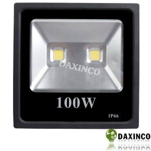 Đèn pha led 12vdc dùng bình ắc quy 100W Daxinco 2