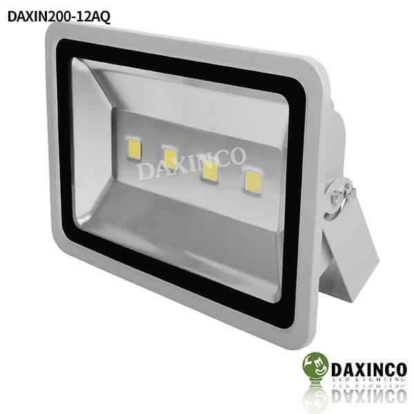 Đèn pha led 12vdc dùng bình ắc quy 200W Daxinco 1