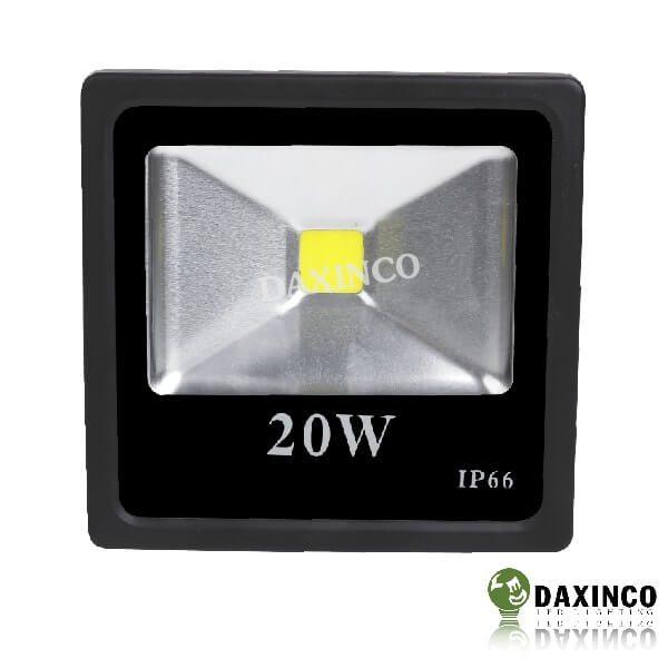 Đèn pha led 12vdc dùng bình ắc quy 20W Daxinco 2