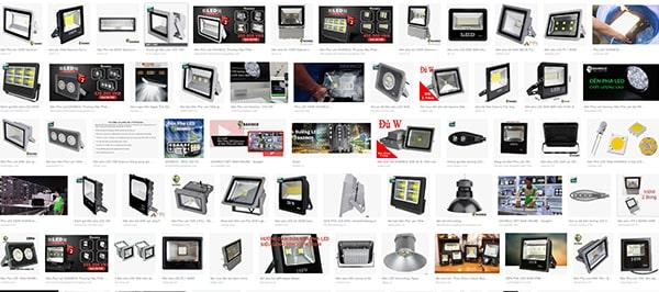 Đèn pha led 200w được sử dụng rất phổ biến