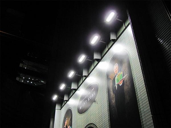 Đèn pha led chiếu sáng bảng hiệu, bảng quảng cáo