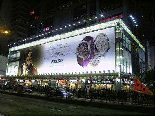 Đèn pha led cao áp được ứng dụng nhiều nhất để chiếu sáng bảng hiệu