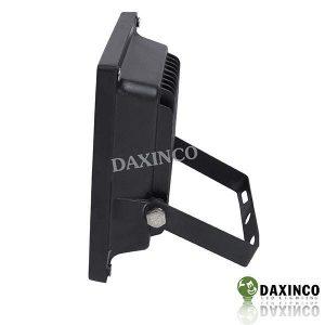 Đèn pha led 10W Daxinco kiểu dẹp đen Daxin10-2 2
