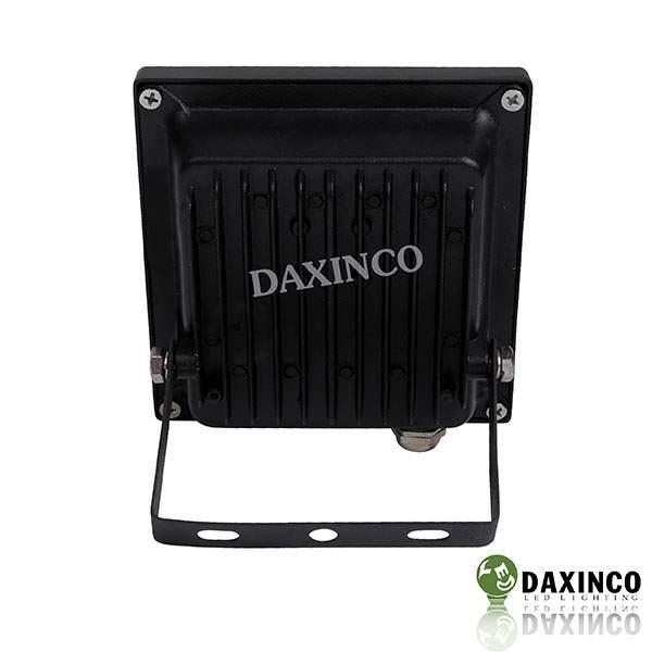 Đèn pha led 10W Daxinco kiểu dẹp đen Daxin10-2 3