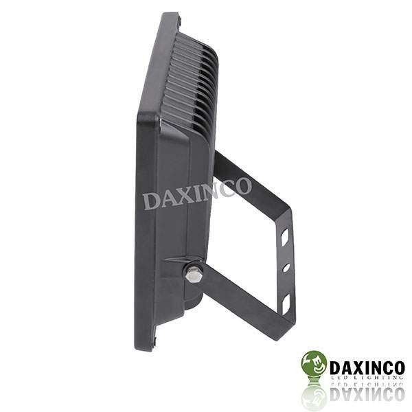Đèn pha led 20W Daxinco kiểu dẹp đen Daxin20-2 3