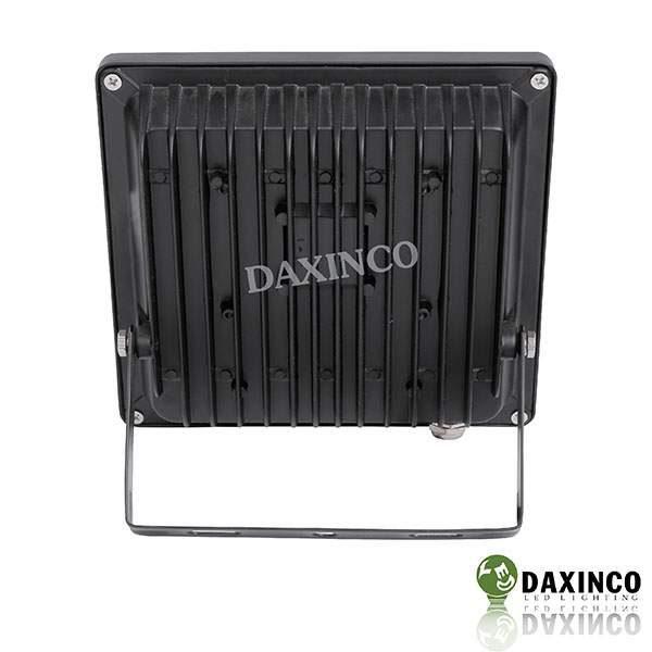 Đèn pha led 20W Daxinco kiểu dẹp đen Daxin20-2 4