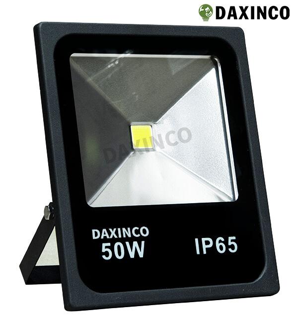 Đèn pha led 50W Daxinco kiểu dẹp đen Daxin50-2 1