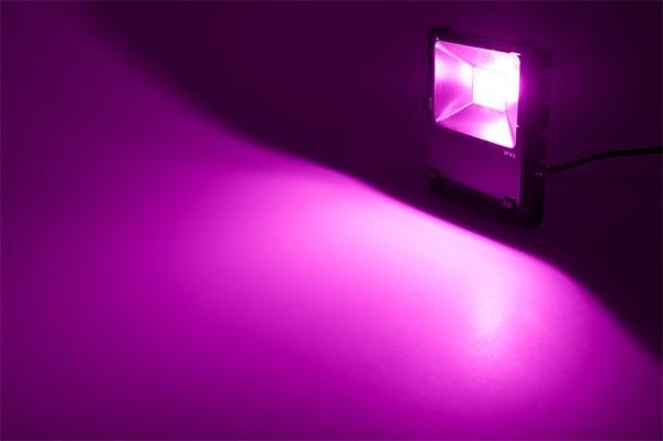 Đèn led pha đổi màu Daxinco mang lại vẻ đẹp hoàn hảo cho không gian chiếu sáng