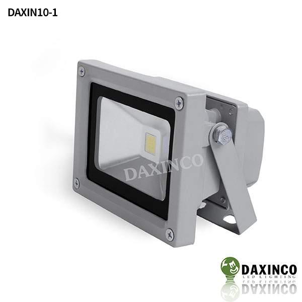 Đèn pha led 10W Daxinco kiểu thông dụng Daxin10-1 1