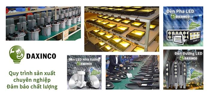 Quy trình sản xuất đèn led nhà xưởng chuyên nghiệp
