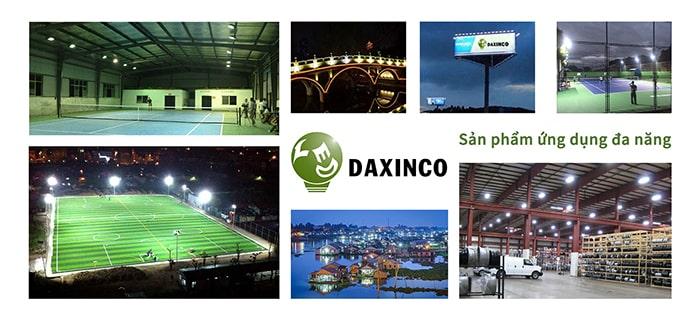 Tính ứng dụng cao với đèn led nhà xưởng Daxinco