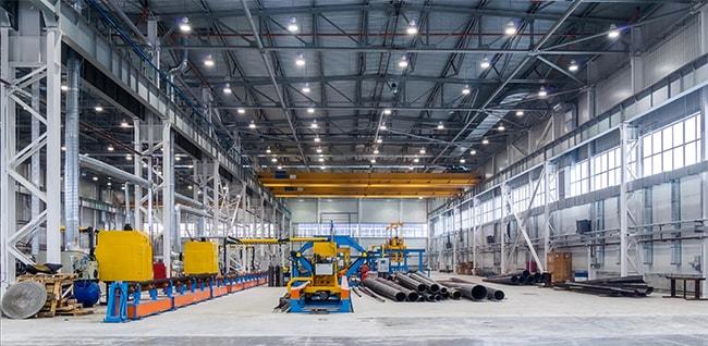 Cách tính số lượng đèn led cần lắp cho nhà xưởng