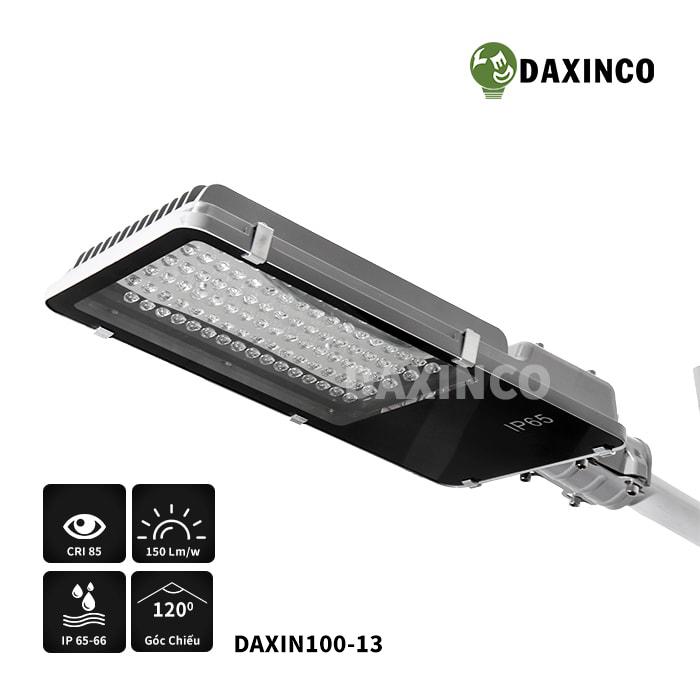 Đèn đường led 100w Daxinco kiểu răng- CV
