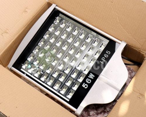 [Hình ảnh thật tế] đèn đường led 56w hat led-1