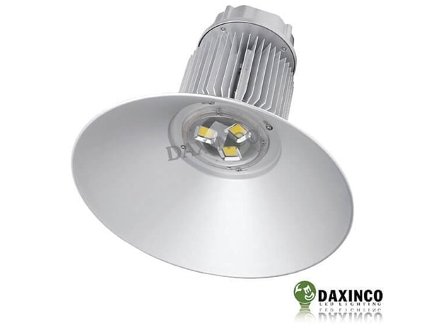 Đèn led treo trần chiếu sáng cho nhà xưởng DAXINCO