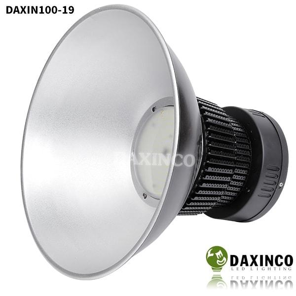 Đèn led nhà xưởng 100w Daxinco kiểu hạt led vàng