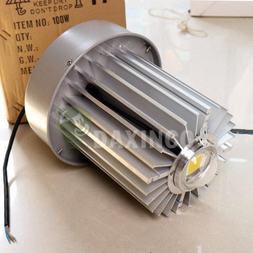 [Hình ảnh thật tế] đèn led nhà xưởng 100w thông dụng -1