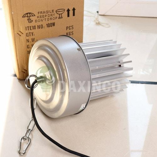 [Hình ảnh thật tế] đèn led nhà xưởng 100w thông dụng -2