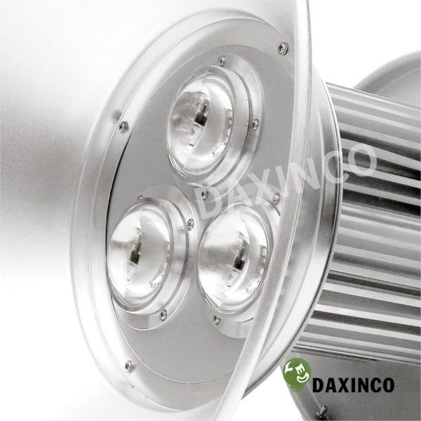 Đèn led nhà xưởng 150w Daxinco kiểu ba trụ 4