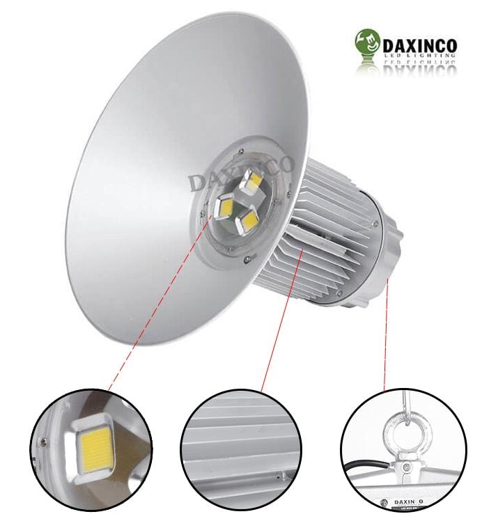 Đèn led treo nhà xưởng 120W DAXINCO