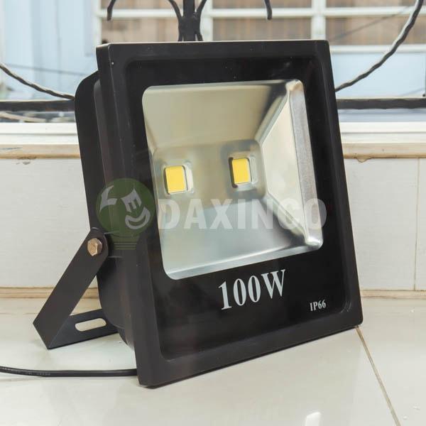 [Hình thật tế] Đèn pha led kiểu dẹp 100W Daxinco_1