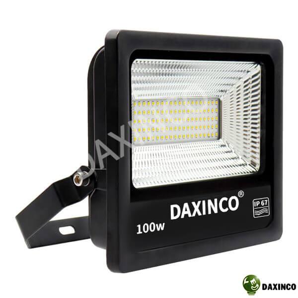 Đèn pha led 100W chip SMD chiến sỹ Daxin100-18SMD