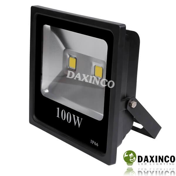 Đèn pha led kẹp bình 100W (đèn pha led 100w 12V)