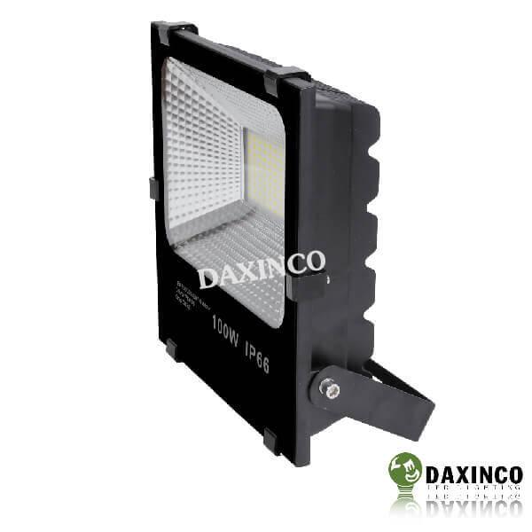 Đèn pha led 100W Daxinco hạt led vàng