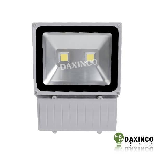 Đèn pha led 100w Daxinco kiểu thông dụng