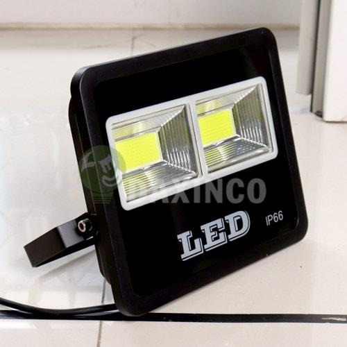 [Hình ảnh thật tế] đèn pha led 100W COB chiến sỹ