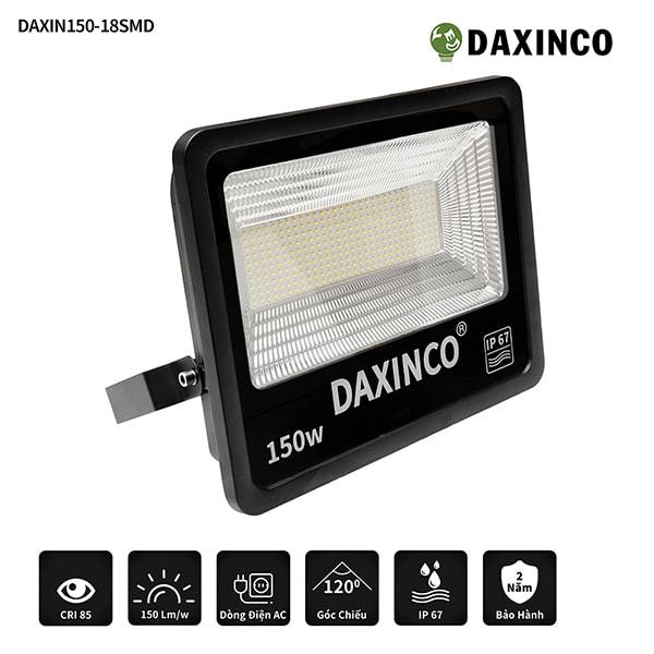 Đèn pha led 150W SMD chiến sỹ Daxinco150-18 -1
