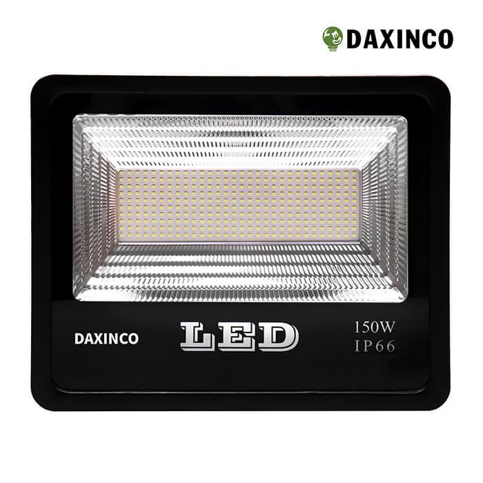 đèn pha led 150W SMD Daxinco kiểu chiến sỹ 1
