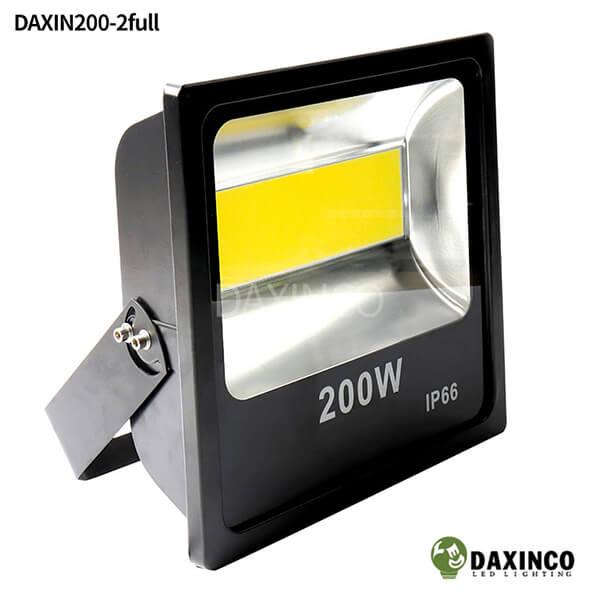 Đèn pha led 200W Daxinco kiểu Full COB Daxin200-2full 1