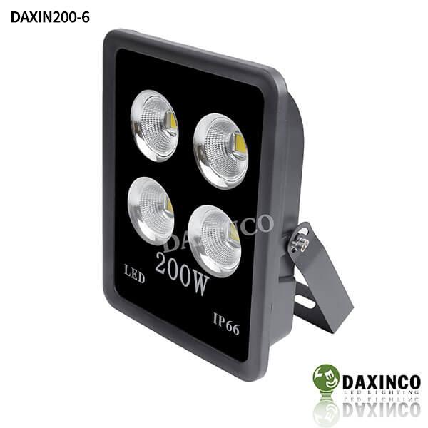 Đèn pha led 200w chiếu xa - tụ quang Daxinco Daxin200-6