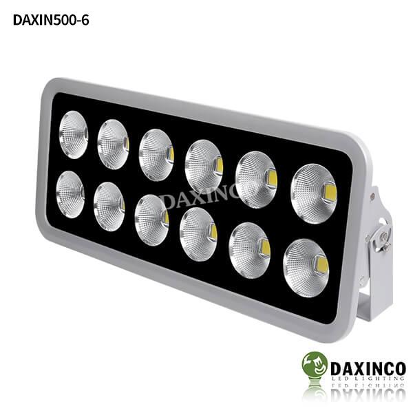 Đèn pha led 500W Daxinco chiếu xa tụ quang - Daxin500-6 1