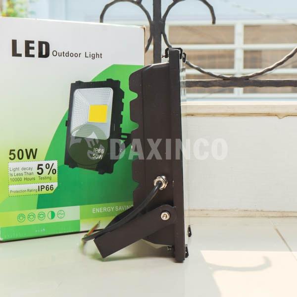 [Hình thật tế] Đèn pha LED 50W hạt led vàng -2