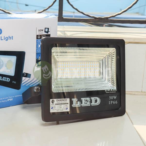 [Hình thật tế] Đèn pha led chip led SMD 50W Daxinco_1
