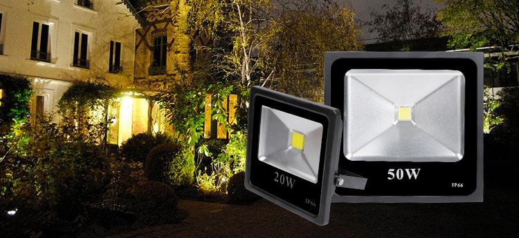 Đèn pha led cho sân vườn loại nào tốt?